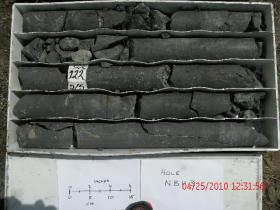 Drill Core bv 3 6 - High Grade Section