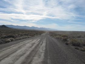 Unpaved Section of Coal Canyon Road